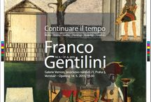 Franco Gentilini – Continuare il tempo. Franco Gentilini. Paintings, Drawings,   Graphics / Vernon Gallery presents the work of Italian artist Franco Gentilini. The itinerant exhibition coes back to the Czech Republic after its introduction in 1997 in the Italian Cultural Institute in Prague, and later also in the Museum of Fine Arts in Budapest, and in the National Museum in Krakow. Visitors can look forward to Gentilini's images of his native town Faenza, but also geometrically rendered, simplified, but not abstract views of everyday life.