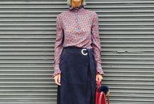 S/S'16 fashion week street styles