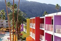 PALM SPRINGS / Colourful inspiration for a sunny Palm Springs holiday.