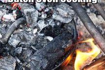 im Freien kochen