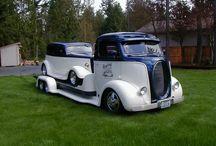 Custom car haulers / by Randy Bideler