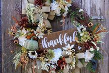 DIY wreaths / Wreaths - handmade wreaths, DIY wreath ideas and more!!