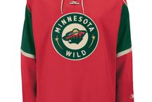 Minnesota Wild - Official NHL Hockey Jerseys / We are the leading manufacturer of professional sports lettering & numbering and we have been selling officially licensed NHL jerseys and apparel via the internet since 1999. Visit: CoolHockey.com for more!