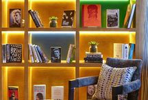 K West Hotel and Spa / Rock'n'Roll book collection for their library bar