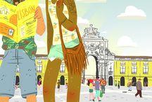 Ciudades Ilustradas #Ciudadesen1día