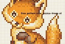 Latch hook pattern