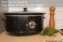 Once-A-Week Cooking Plans / Cook once a week and have a week's worth of meals for the rest of it.  These plans are available to MamaBake members