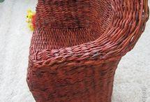 pletene kreslo