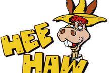 hee haw / by james allen