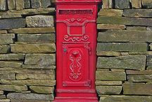Red Postboxes