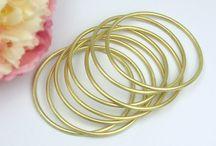 Bracelets - Pulseiras / Silver and Gold Bracelets  --  Pulseiras em Prata e Ouro