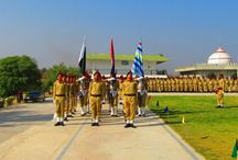Training of Cadets at the Famous College Fateh Jang
