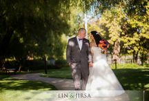 The Richard Nixon Library wedding