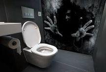 Halloween Bathrooms