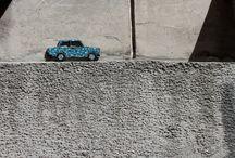Mozaika w przestrzeni publicznej / mozaika; przestrzeń publiczna; street art