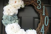 Wreaths / Wreaths - indoor or out - for your home throughout all the seasons.