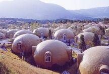 1 | Architecture | batiments topographiques, logements en nappe