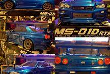 RC drift Nissan r34 maxspeedtechnology