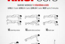 Exercices physiques de base