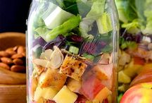 Healthy Snacks / Snack smarter with these simple, healthy snack ideas to keep you full between meals.