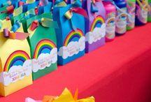 festa vera e reino do arco iris