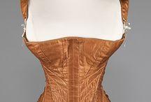 corsets 1830-1850