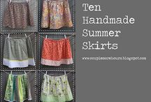 Sewing: Skirts