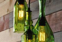 Artes em luminárias