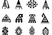 etnik çini motifleri