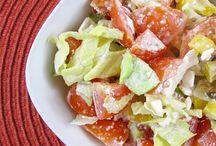 Saláty,zálivky