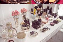 Make up & jewelry storage