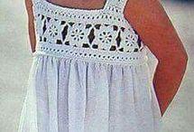robası örgü bebek elbiseleri