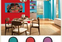Color Ideas for the House / by Missy McTaggart
