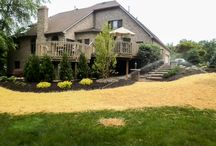 Landscape Projects / Precision Corporation offers landscape design services to residential and business clients, in Northeast Ohio. At Precision, we work with you to create a custom lawn and landscape design that complements your home and reflects your own personal sense of style.