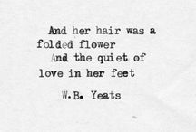 Yeats...and maybe some others