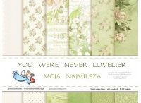"""Some Of Our Products / Scrapbooking 12x12"""" papers, embellishments, chipboards, flowers, album, notebooks and more..."""