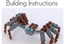 LEGO building plans
