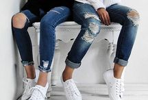 JEANS with SNEAKERS / L.O.V.E jeans and sneakers
