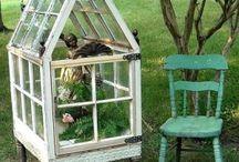 Greenhouses/ kasvihuoneita