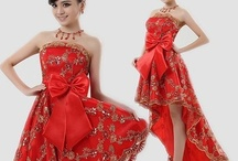 chinese wedding dresses / traditional chinese wedding dresses and beautiful chinese girls / by bridal fashion