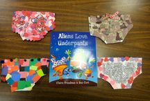 Underpants Themed Activities / Activities based on the Underpants series by Clare Freedman and