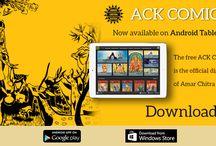 ACK Comics app / ACK Comics app - Amar Chitra Katha's  official digital comic store.