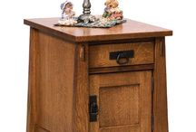 Amish end tables / #Accent your space in #style with #Amish end tables. Add a #handcrafted touch to every room.