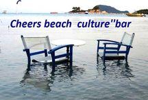 Cheers''beach bar Laganas / Συντονιστείτε στο απέραντο γαλάζιο , χαλαρώστε σε ακουστικούς lounge τόνους, απολαύστε,χαρείτε το...