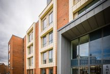Student Accommodation - Sheraton Park / Sheraton Park - Consisting of a new build Sheraton house and Refurbishment of Neville House to create contemporary and inspiring accommodation for students at Durham University