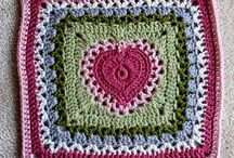 Crochet - squares and other motifs