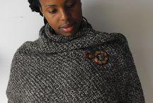 tweed wrap