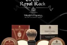 On the Royal Rack / Collection exclusive to Truefitt & Hill products