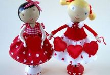 Cutie Pie Clothespin Dolls / by Crystal Kelso-Paddock