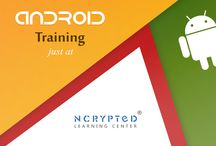Android Training at NLC / NCrypted Learning Center (NLC) provides the best in class corporate training program for Android that will export you from your classrooms right into the corporate world of real-time programming.